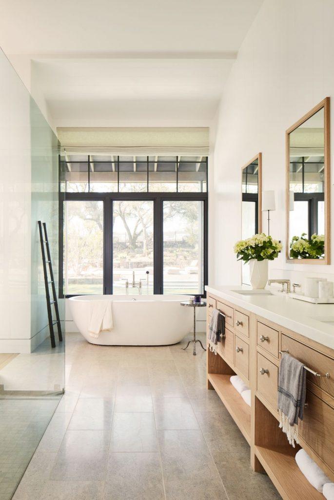 applique in tessuto in bagno in stile americano
