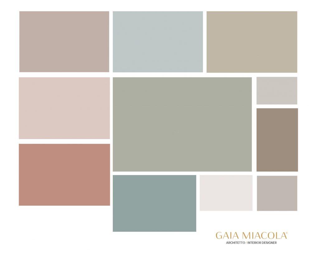 colori per le pareti